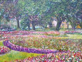Matthew Evans 'In Bloom' exhibition